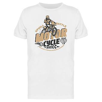 Bergauf Rennen T-Shirt Herren-Bild von Shutterstock