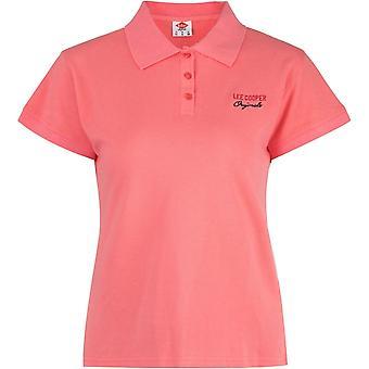Lee Cooper Regular Polo Shirt Ladies
