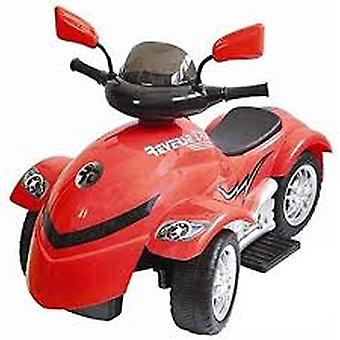 New Star Reverse Trike 6 volts batterie powered Ride-On, Rouge