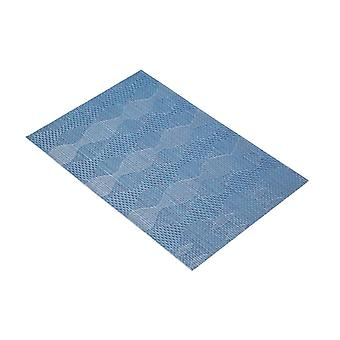 KitchenCraft Woven Placemat With Wave Design