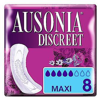 Inkontinenz Sanitär Pad DISCREET mAXI Ausonia (8 uds)
