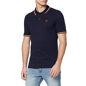 Jack & Jones Mens JJenoah Short Sleeve Cotton Polo Shirt