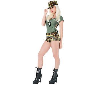 Women Playboy Bootcamp Baby Costume