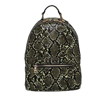 Replay Women's Shiny Printed Snake Backpack