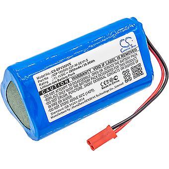 Bateria de vácuo para Electropan ICP 186500-22F-M-3S1P-S Ilive V3s Pro V5 V5s 11.1V