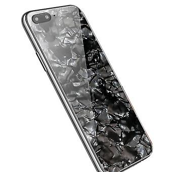 Luxury marble karkaistu lasi kotelo kansi Apple iPhone X XS XR Max 10 8 7 6s 6