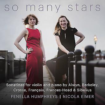 So Many Stars [CD] USA import