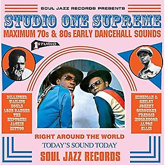 Soul Jazz Records Presents - Studio One Supreme: Maximum 70s & 80s Early [CD] USA import