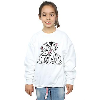 Disney Girls 101 Dalmatians Puppy Love Sweatshirt