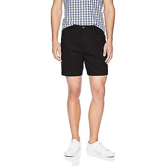 """Essentials Men-apos;s Classic-Fit 7"""" Short, Black, 38, Noir, Taille 38"""