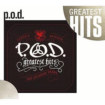 P.O.D. - Greatest Hits: The Atlantic år [CD] USA import