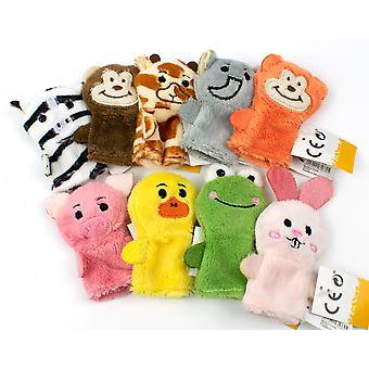 Plush Finger Puppet Animal - Cracker Filler Gift