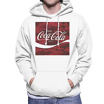 Coca Cola Camo Men's Kapuzen Sweatshirt