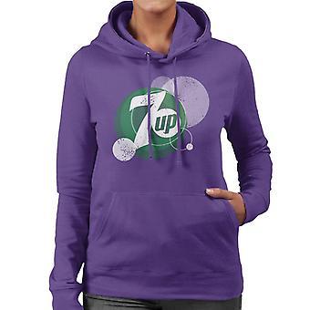 7UP Fizz Logo Kvinnor & Apos; hooded tröja