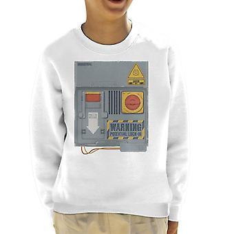 O crystal maze lock in board kid's sweatshirt