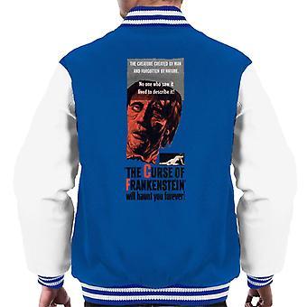 ハンマーホラー映画フランケンシュタインはあなたに永遠にメン&アポスを悩ませます;sヴァーシティジャケット