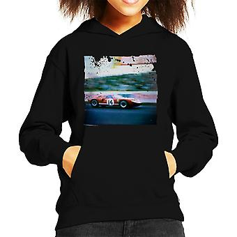 Motorsport Images Sutcliffe Dieter Spoerry Ford GT40 Kid's Sudadera con capucha