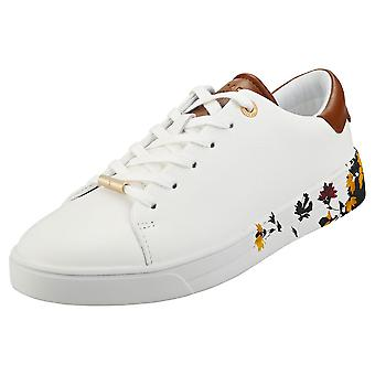 Ted Baker Wenil Womens Fashion Trainers in White