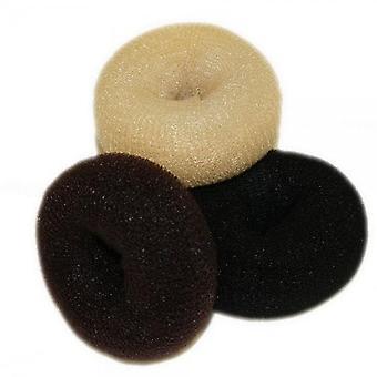 Hair tools Bun ring zwart-Jumbo