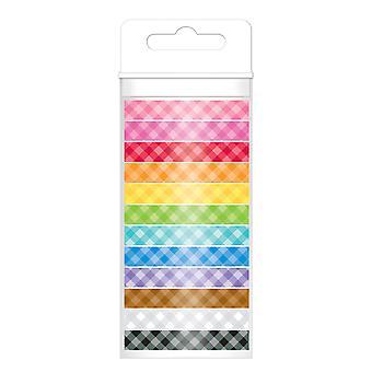 עיצוב צבעוני ושקג'וק מבחר סרט וושי (12pcs) (4803)