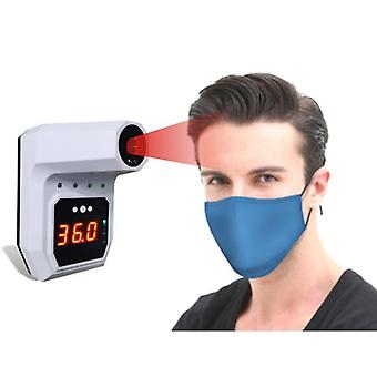 Non-contact Digital Wall-mounted Infrared Forehead Thermometer With Lcd Display