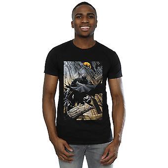 DC Comics Men's Batman Night Gotham City T-Shirt