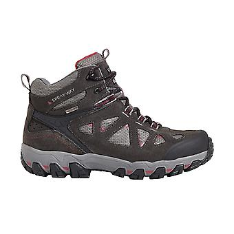Sprayway Womens Iona Mid Suede Wicking Walking Boots