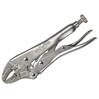 "IRWIN Vise-Grip 5WRC Curved Jaw Locking Pliers con Wire Cutter 127mm 5"" VIS5WRC"