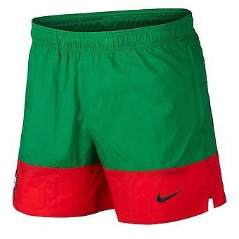 2020-2021 Portugal Vävda Shorts (Grön)