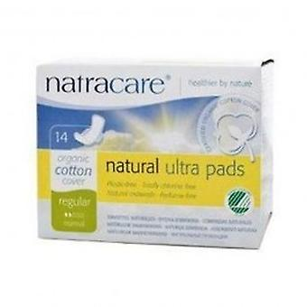 Natracare - Ultra Pads Reg with Wings 14pieces