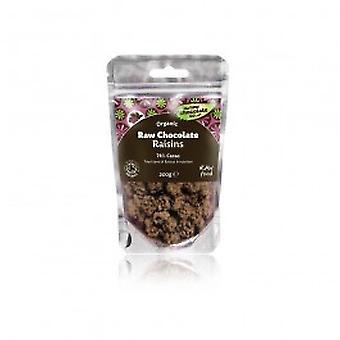 Raaka suklaa yritys - raaka suklaa rusinoita 125 g X 6