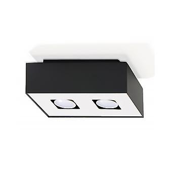 Plafond Mono 2 Preto