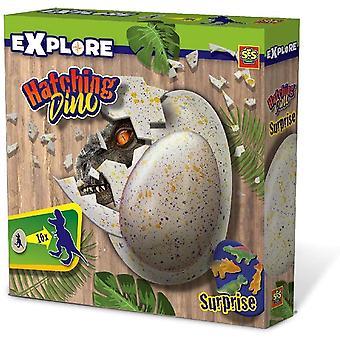 SES Creative Children's Explore Hatching Dino Egg (25063)