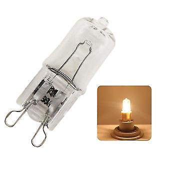Super Bright G9 Halogen Light Bulb, 220v 3000k Indoor Clear Lamp