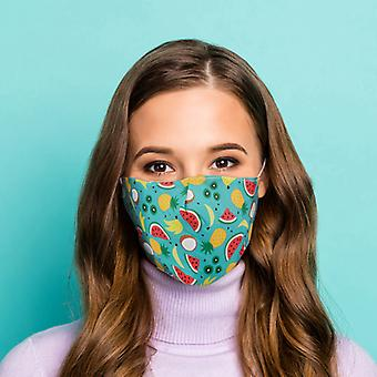 Tropical Reusable Face Covering - Large X 1 Pack
