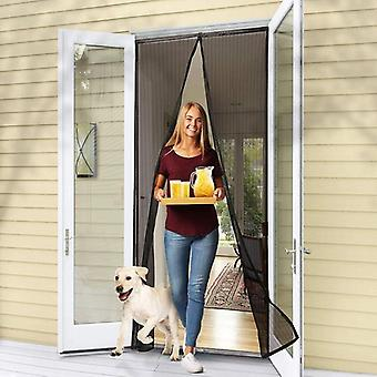 Magnetic Screen Door Hands-free Mosquito Net Anti Fly Insect Curtain Mesh