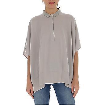 Fabiana Filippi Mad260w113a5000106 Women's Grey Cashmere Sweater