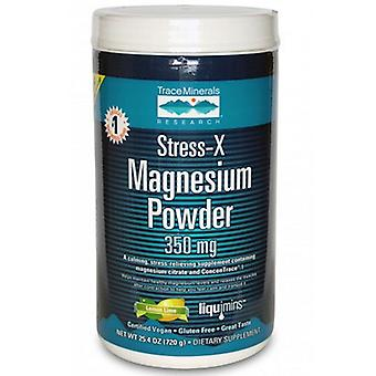 Trace Minerals Stress-X, Magnesium Powder Sample 1 Pack