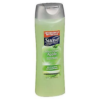 Suave Essentials Shampoo Juicy Green Apple, 15 Oz