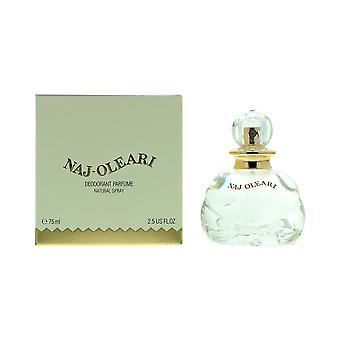 Naj Oleari Deodorant Parfume 75ml Spray For Her