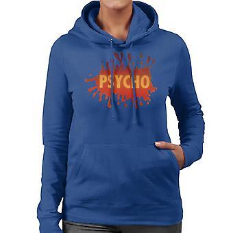 Psycho Splatter Logo Women's Hooded Sweatshirt