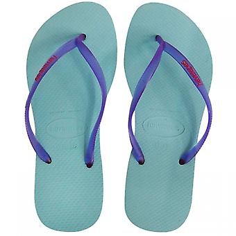 Havaianas Womens Slim Logo Pop Up Open Toe Casual