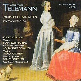 Telemann / Schoch, Knut / Harras, Manfred / Fortino - Moral Cantatas / Generalbassubungen [CD] USA import