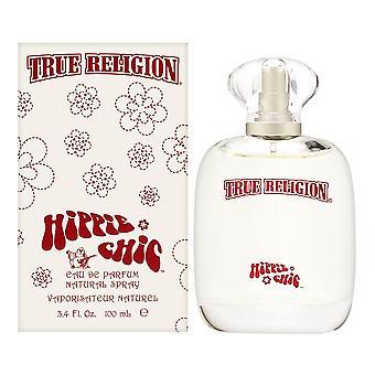 True religion hippie chic for women by true religion brand jeans 3.4 oz eau de parfum spray