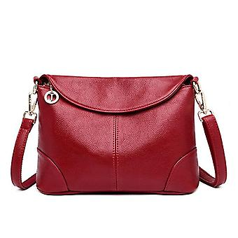 Leather Messenger Bag And Small Shoulder, Hand Crossbody Bags