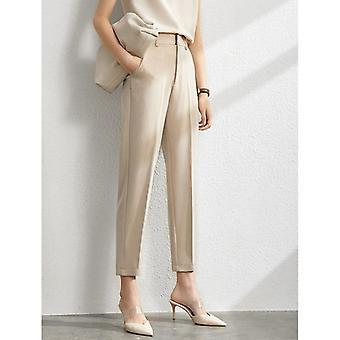 Amii Minimalism Set Blazer solido autunnale, serbatoi, pantaloni a vita alta venduti