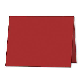 الفلفل الأحمر. 178mm × 256mm. 5x7 (طويل الحافة). 235gsm مطوية بطاقة فارغة.