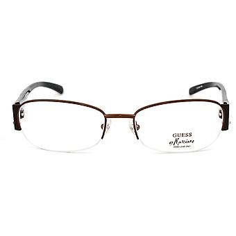 Ladies'Spectacle frame Guess Marciano GM103-BRN Brown (ø 54 mm)