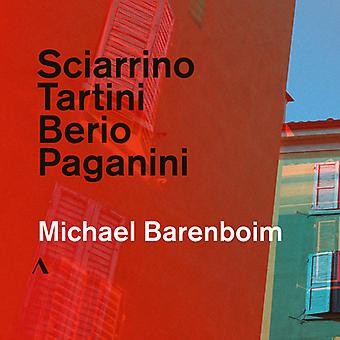 Berio / Barenboim - Sciarrino / Tartini / Berio / Paganini [CD] USA import