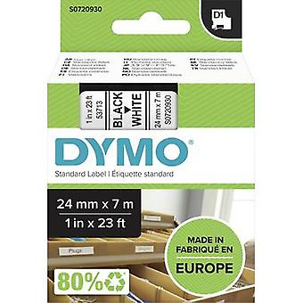 Etikettering tape DYMO D1 53713 Tape kleur: wit lettertype kleur: zwart 24 mm 7 m